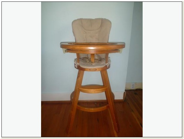 Graco Wooden High Chair Plastic Tray