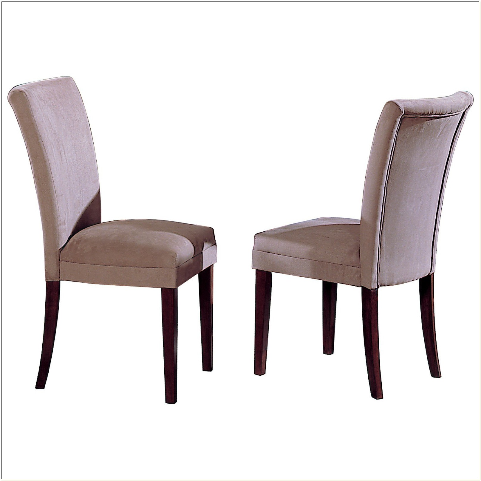 Green Microfiber Parson Dining Chairs