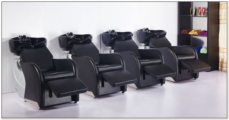 Hair Salon Sinks And Chairs