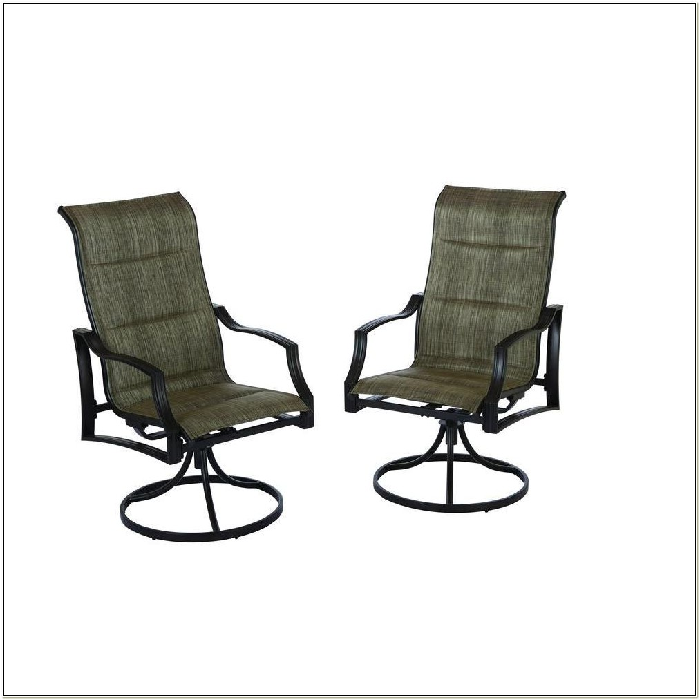 Hampton Bay Swivel Patio Chairs