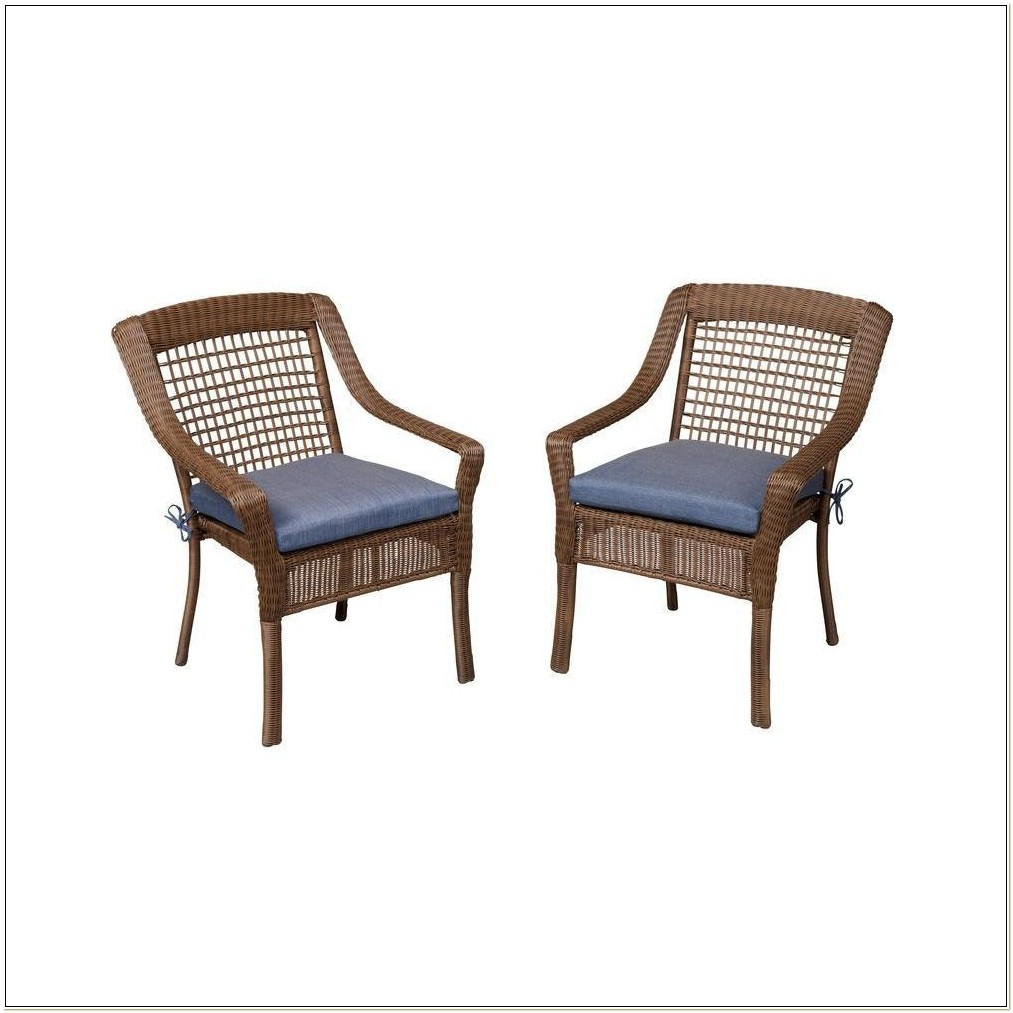 Hampton Bay Wicker Chairs