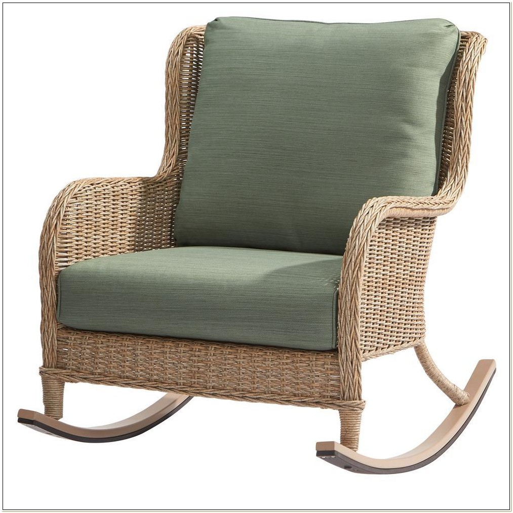 Hampton Bay Wicker Rocking Chairs