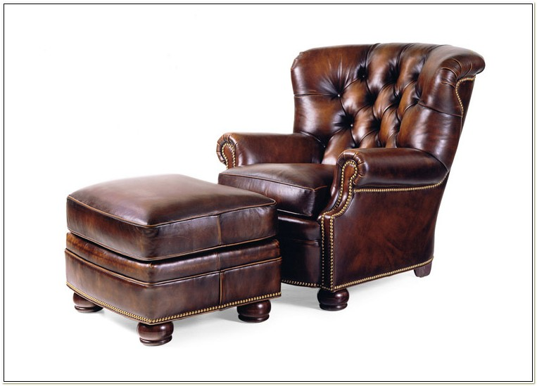 Hancock And Moore Leather Lounge Chair