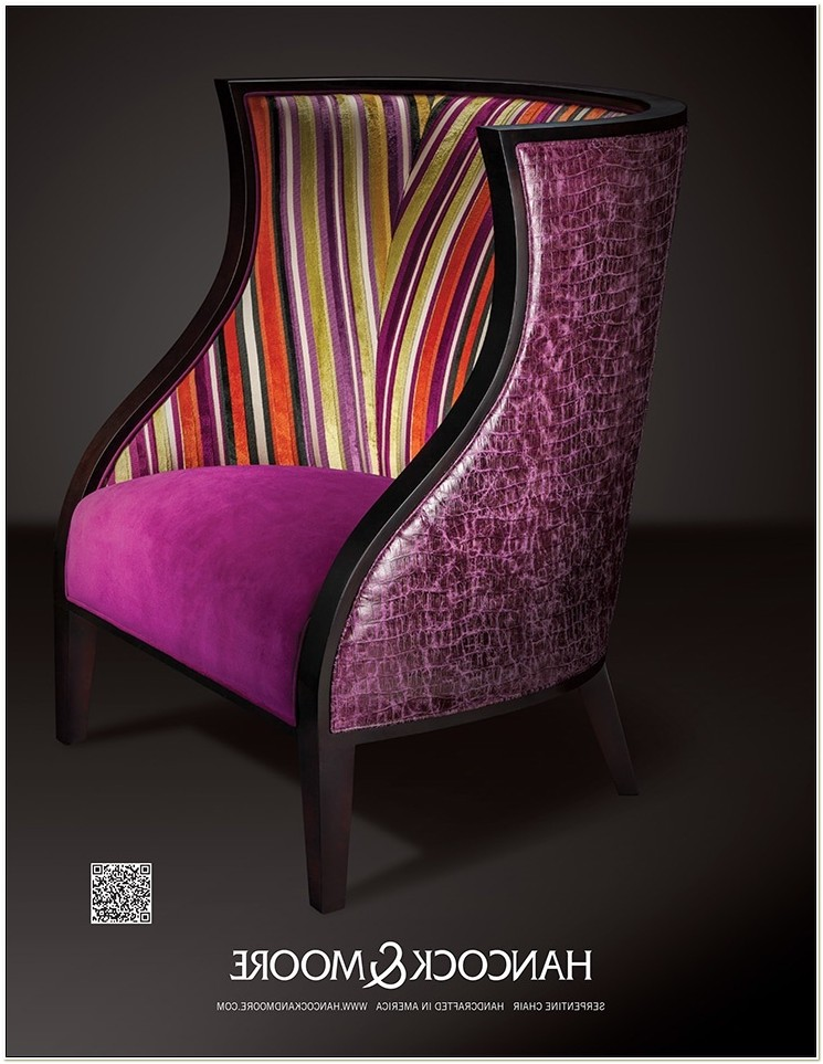 Hancock And Moore Upholstered Chairs