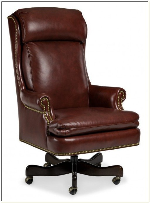 Hancock Moore Leather Desk Chairs