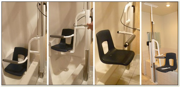 Handicap Bathtub Lift Chair