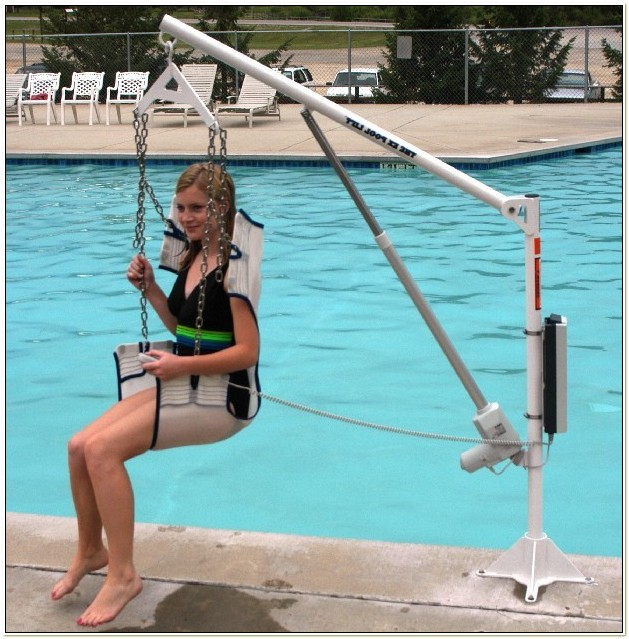 Handicap Pool Chair Lift