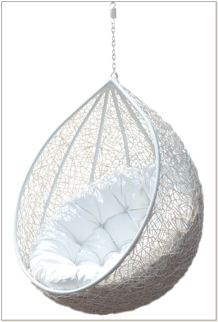 Hanging Wicker Egg Chair No Stand