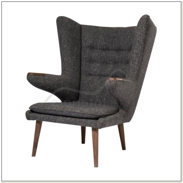 Hans J Wegner Style Papa Bear Chair