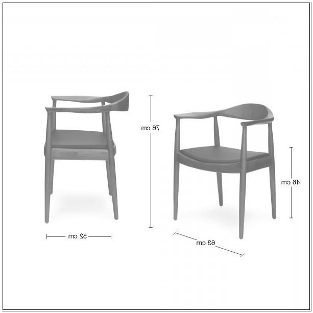 Hans Wegner The Chair Dimensions