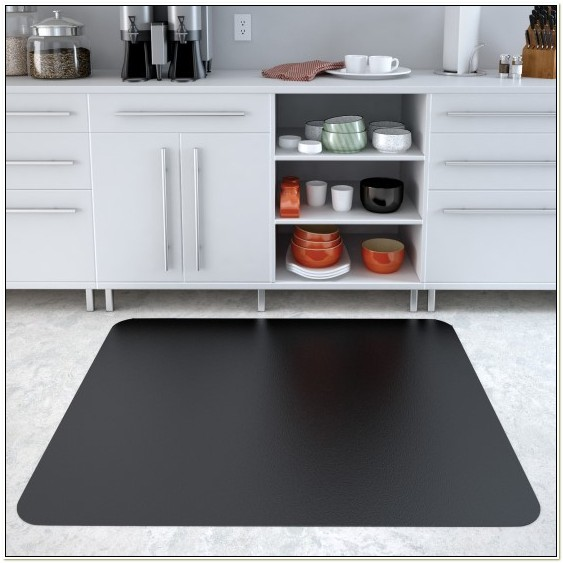 Hard Floor Chair Mats Black