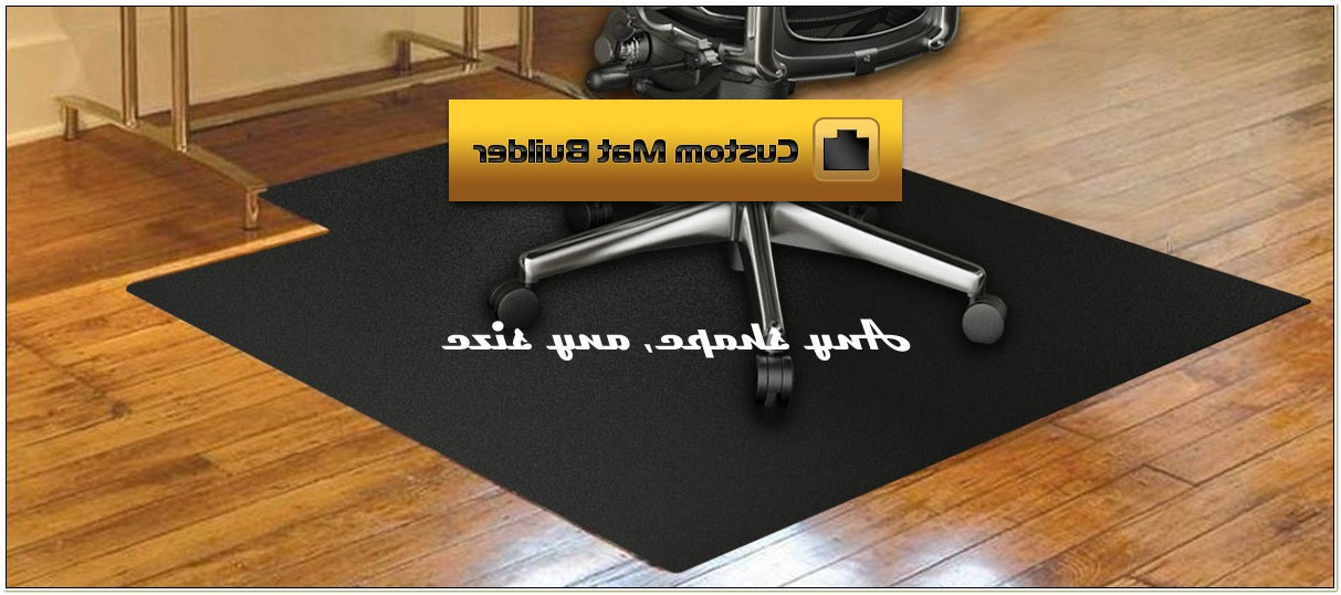 Hard Surface Chair Mat With Lip