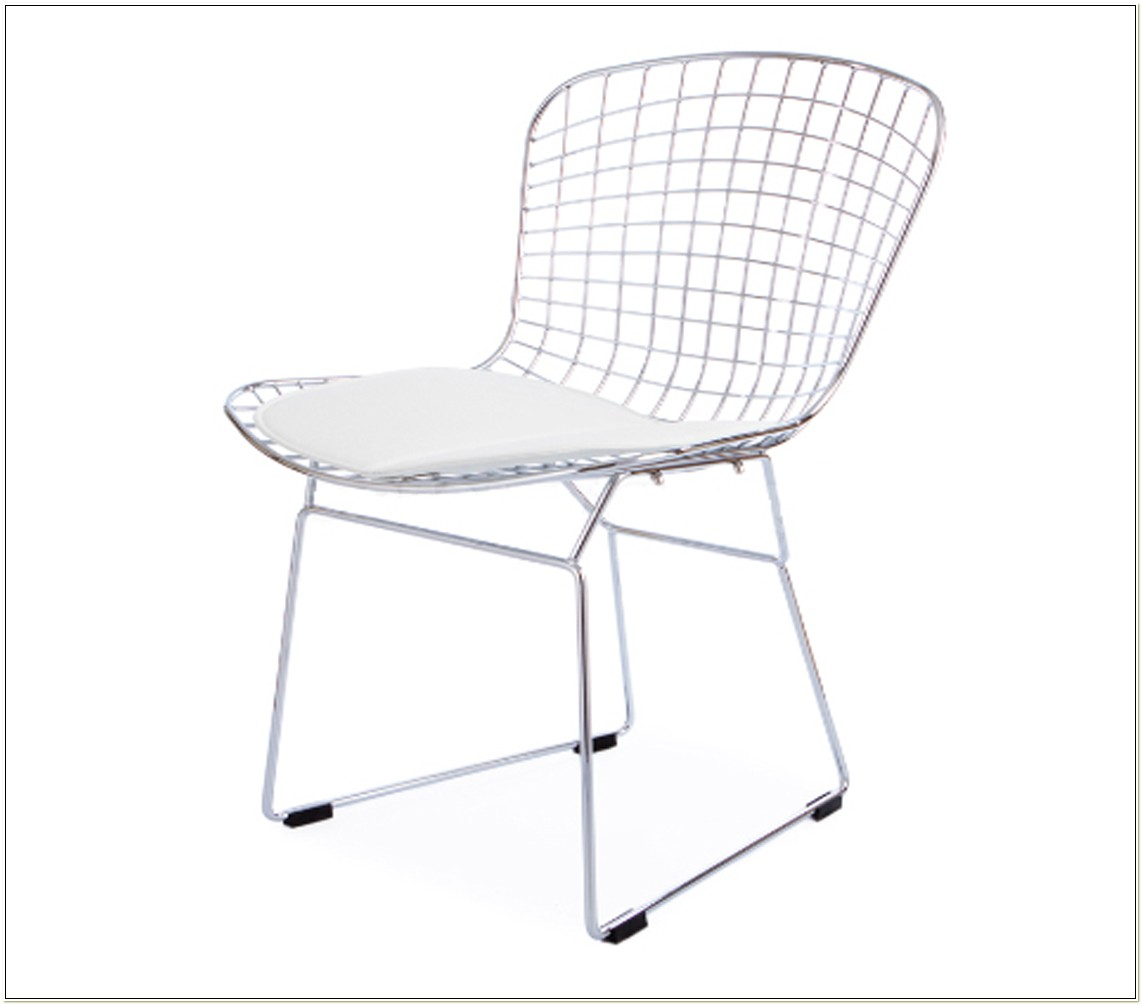 Harry Bertoia Style Wire Chair
