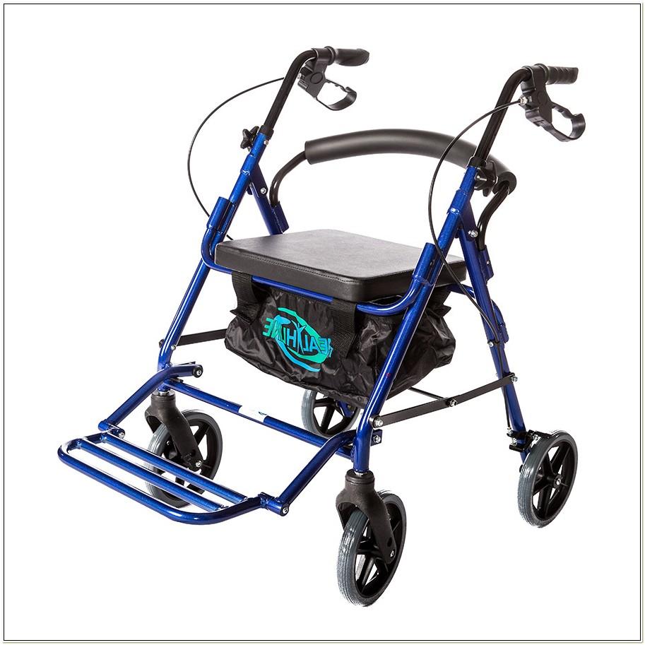 Healthline Combo Transport Rollator Chair
