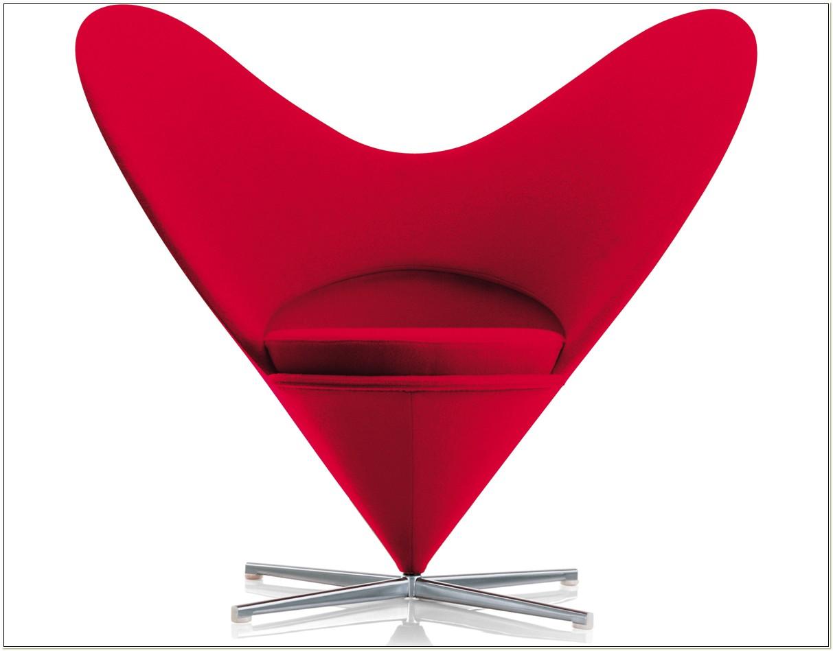 Heart Cone Chair Verner Panton