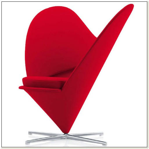 Heart Shaped Cone Chair Verner Panton