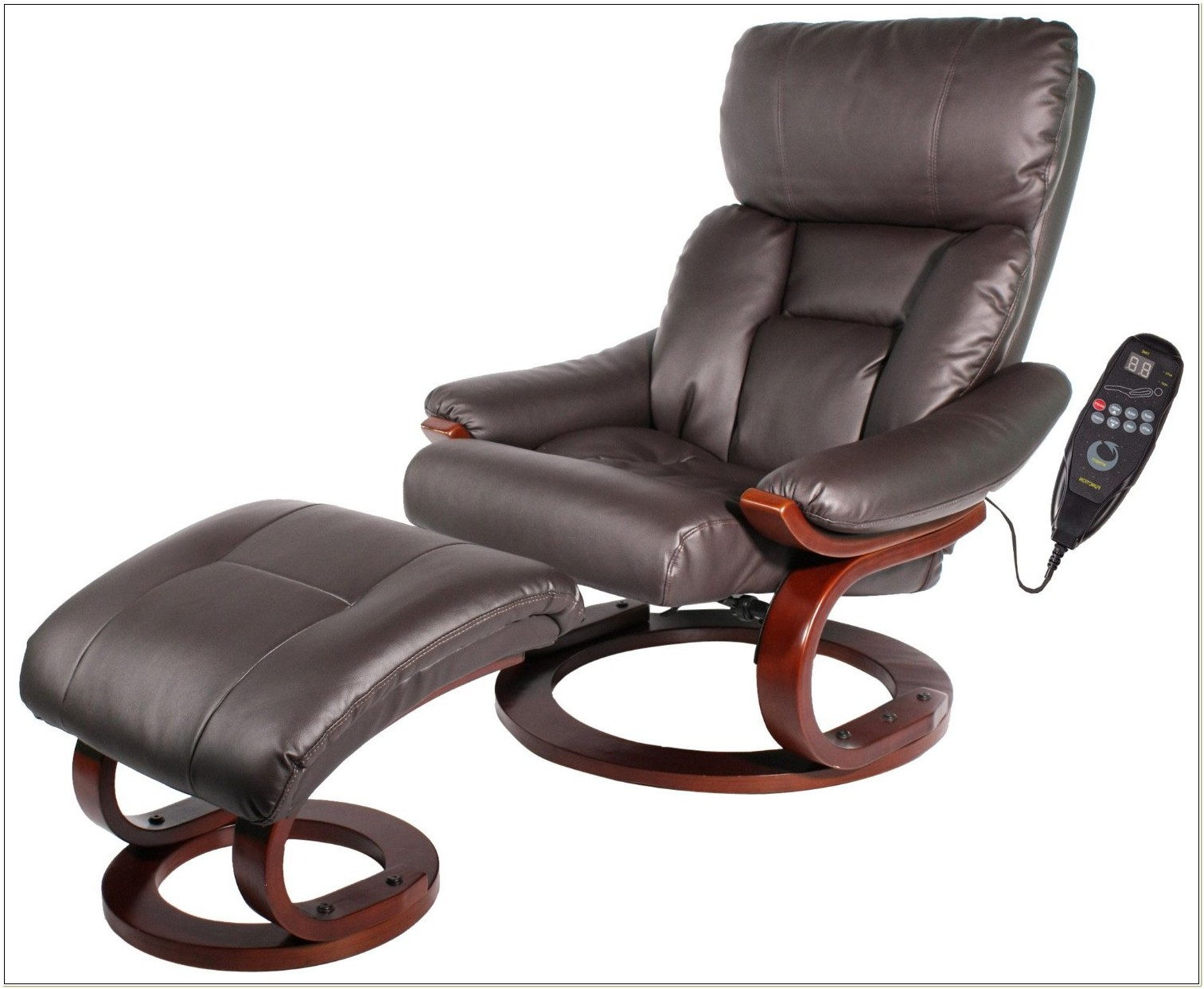 Heated Reclining Massage Chair With Ottoman