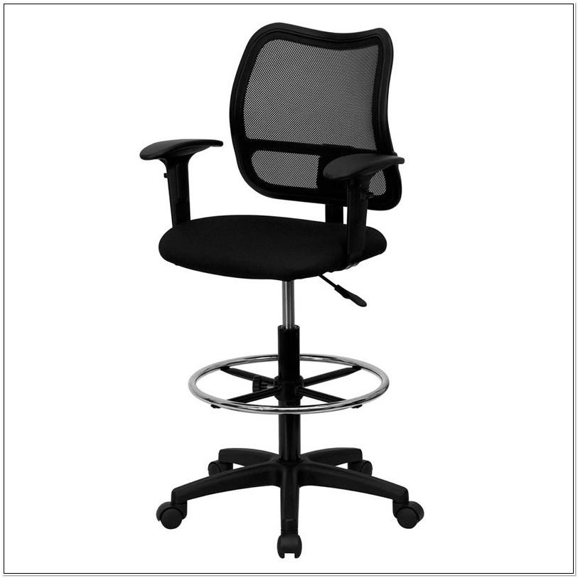 Heavy Duty Armless Drafting Chair