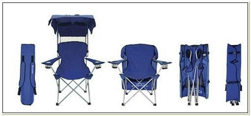 Heavy Duty Camp Chair With Canopy