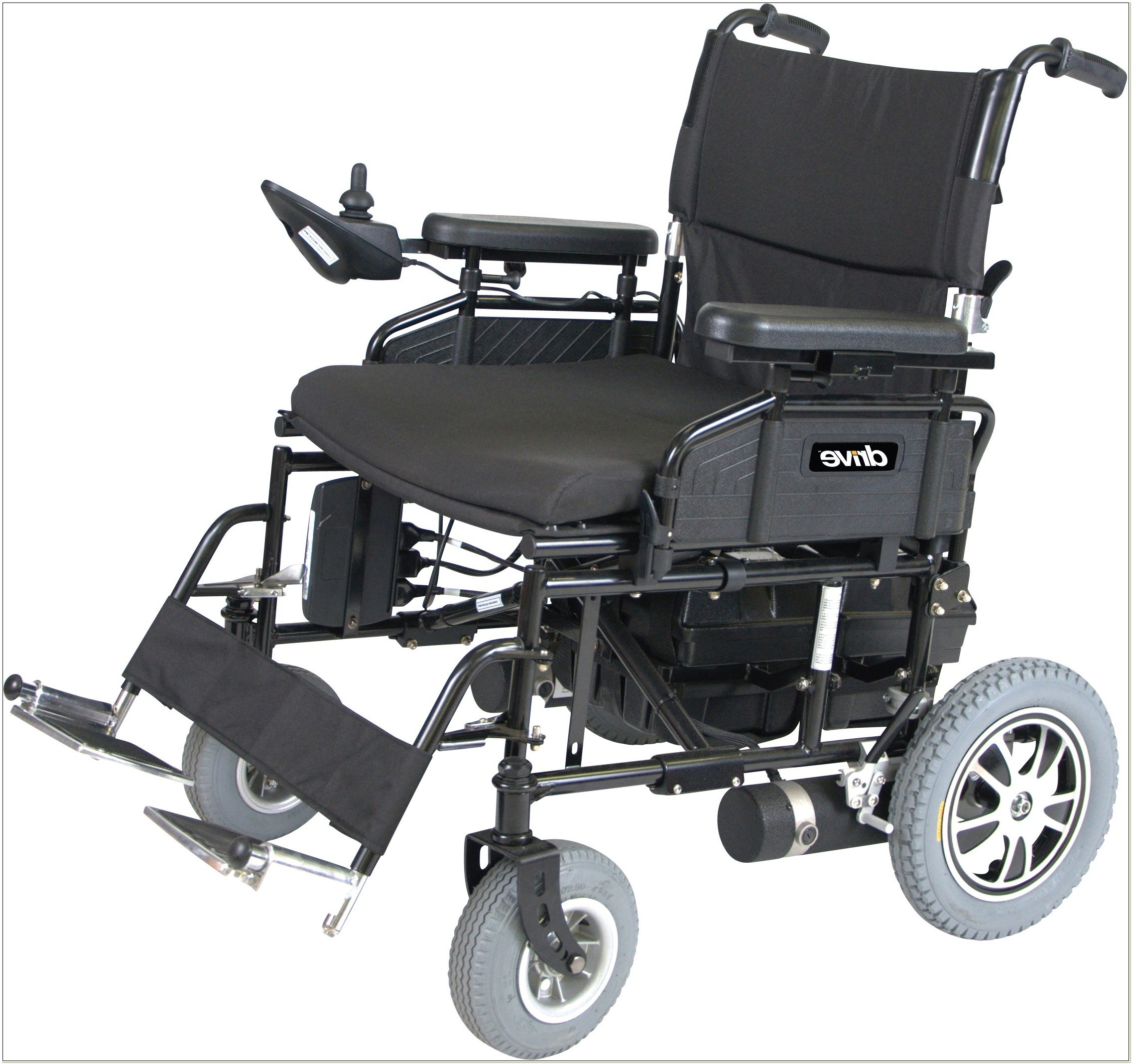 Heavy Duty Folding Power Wheelchair