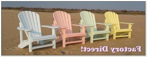 Heavy Duty Plastic Adirondack Chairs