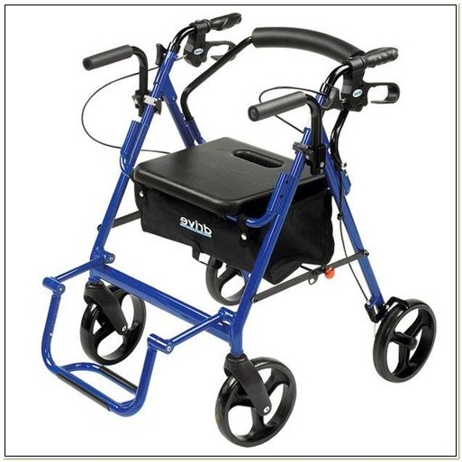 Heavy Duty Rollator Transport Chair