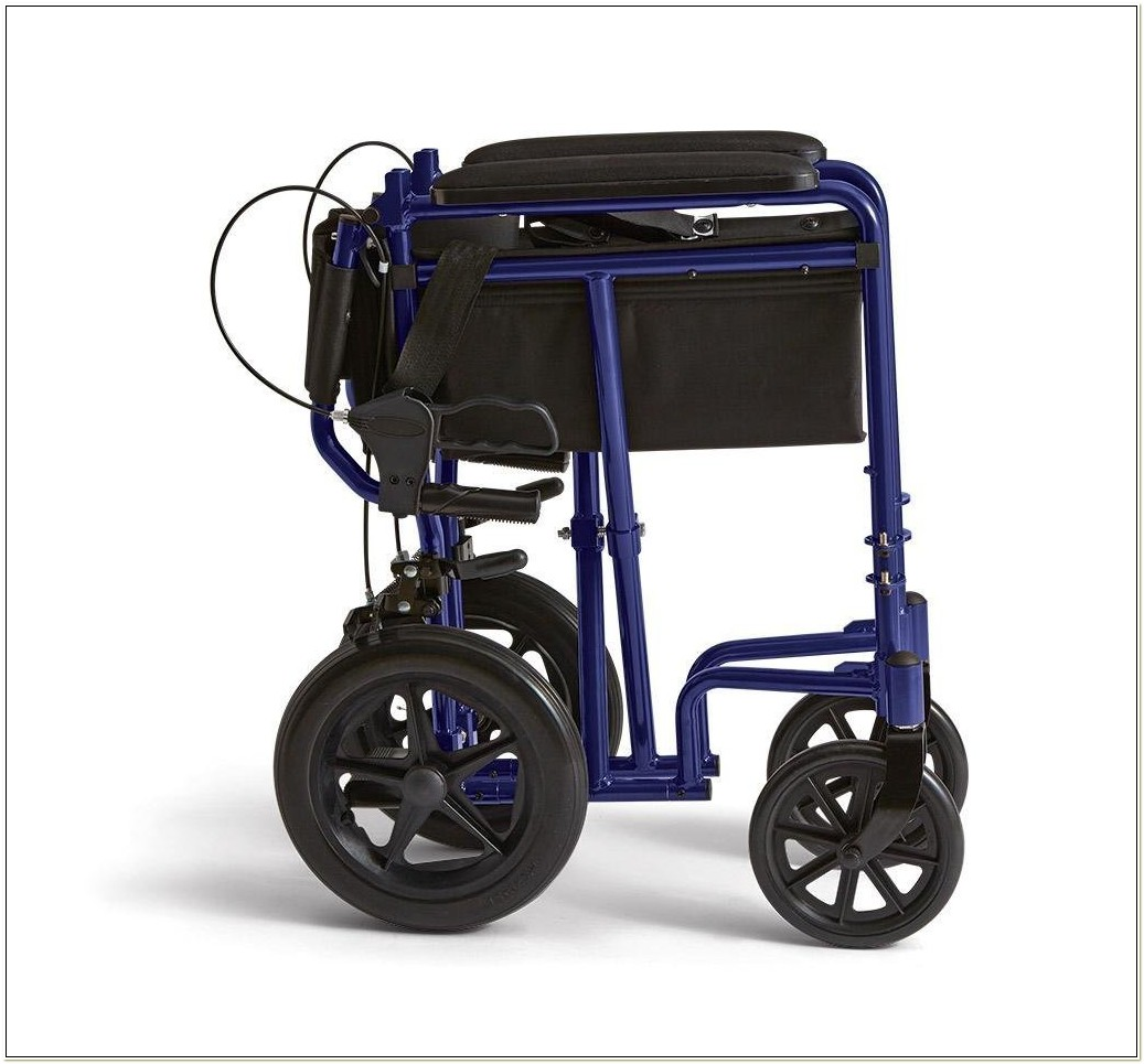 Heavy Duty Transport Chair By Invacare
