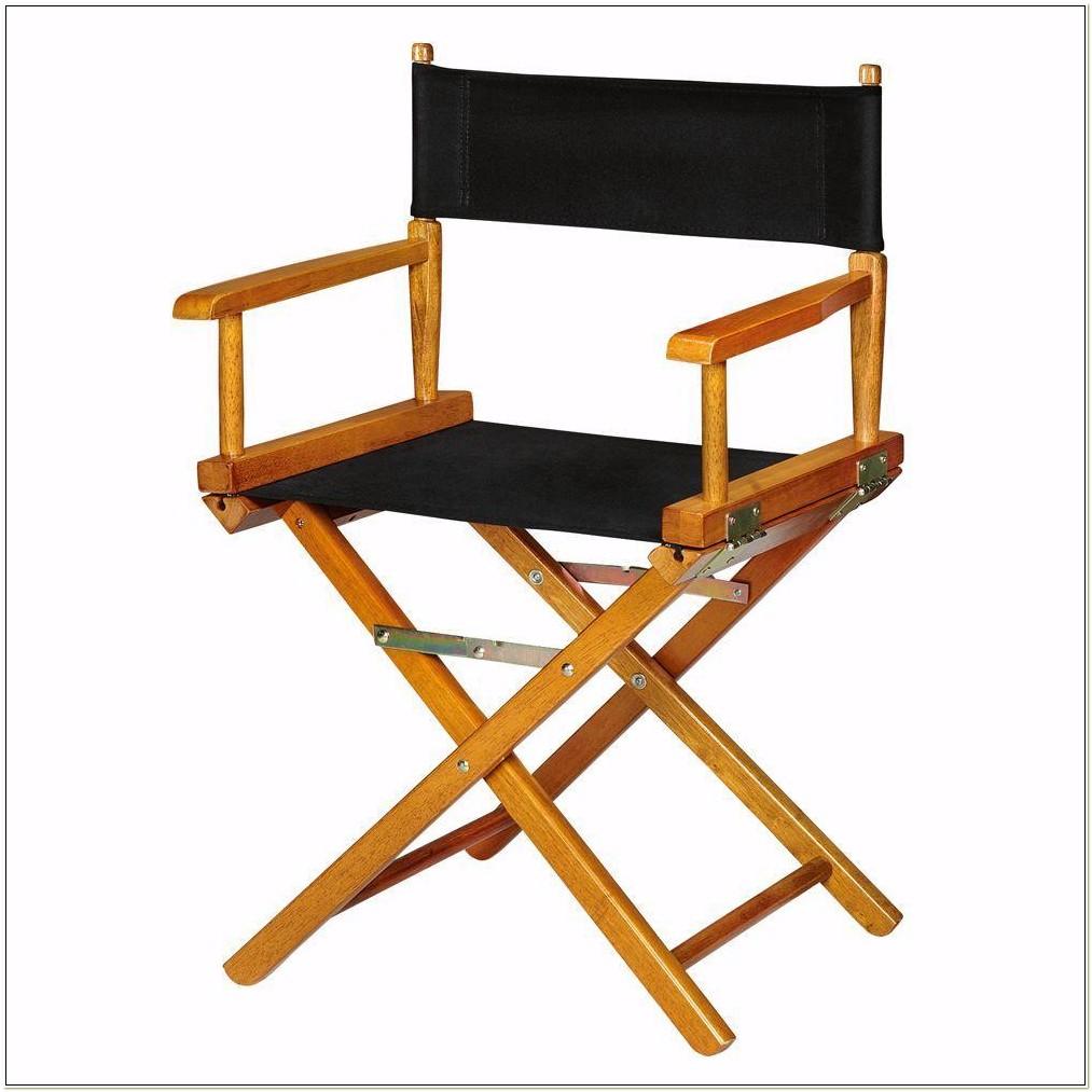 Heavy Duty Wooden Directors Chair
