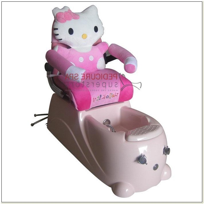 Hello Kitty Spa Pedicure Chair