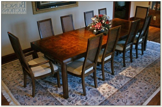Henredon Furniture Dining Room Chairs