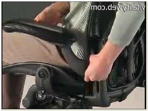Herman Miller Aeron Chair Arm Adjustment