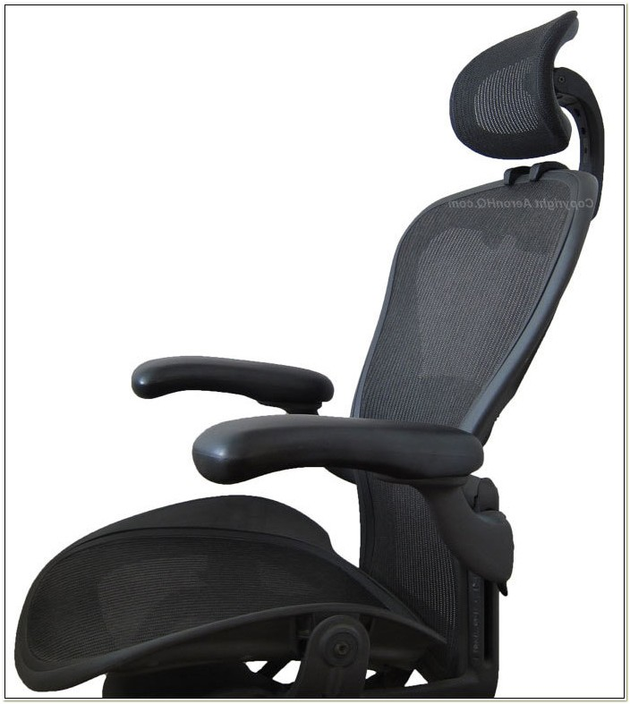 Herman Miller Aeron Chair With Headrest