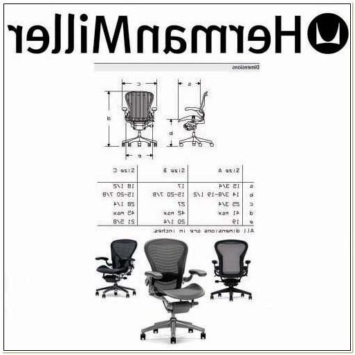 Herman Miller Aeron Stool Dimensions