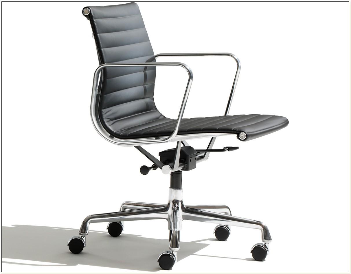 Herman Miller Aluminum Management Chair