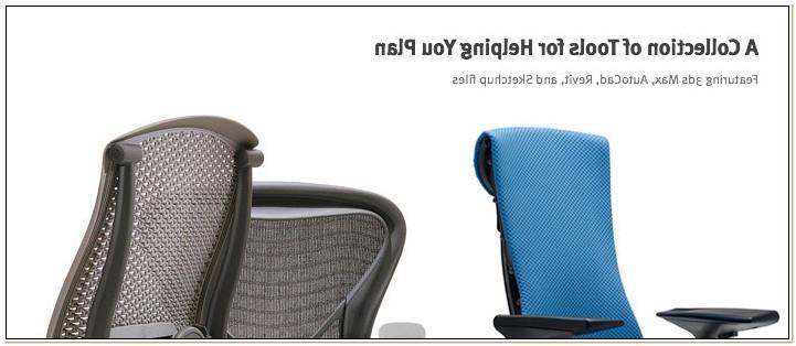 Herman Miller Bumper Chair Cad Block