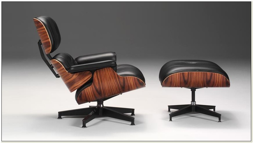Herman Miller Eames Chair With Ottoman