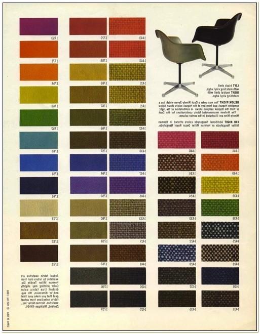 Herman Miller Fiberglass Chair Colors