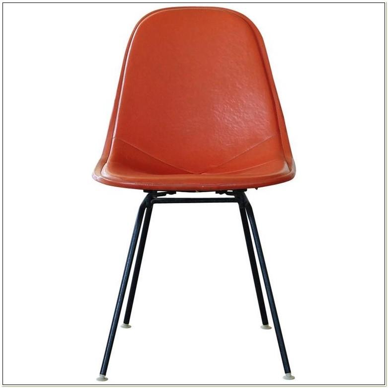 Herman Miller Orange Leather Chair