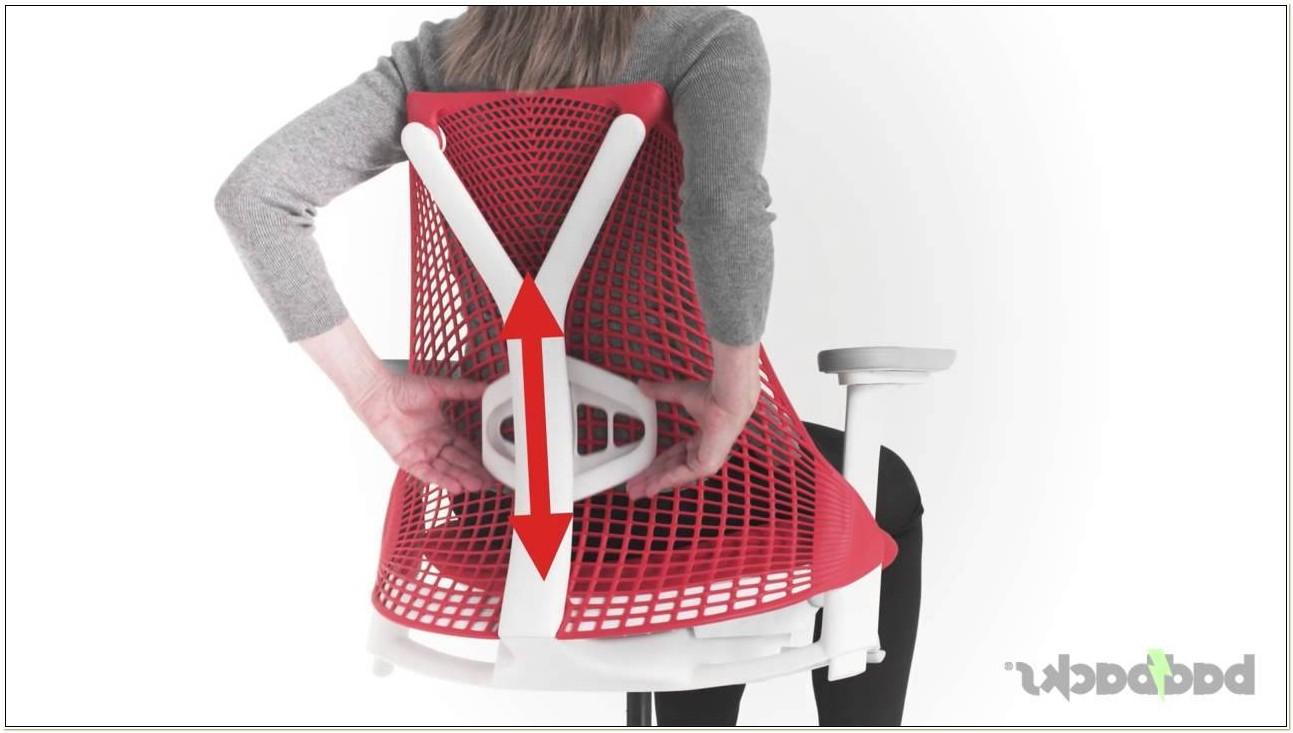 Herman Miller Sayl Chair Adjustments