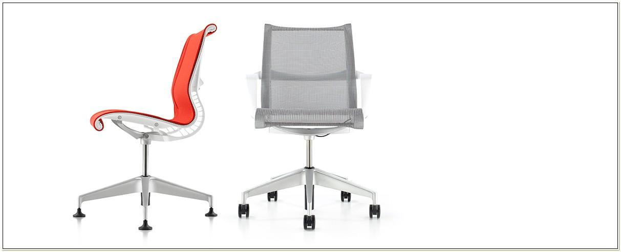 Herman Miller Setu Task Chair Silver