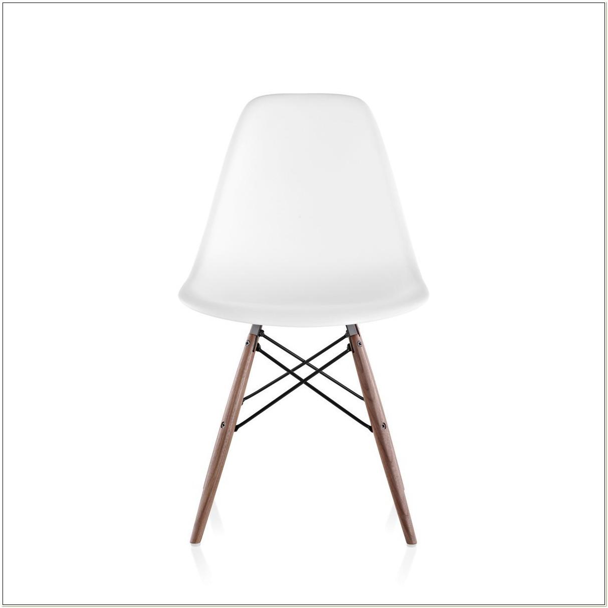 Herman Miller White Plastic Chair