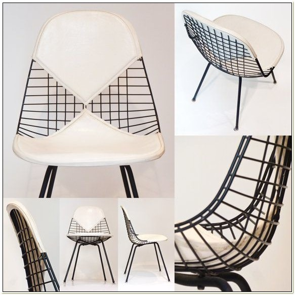 Herman Miller Wire Chair Vintage