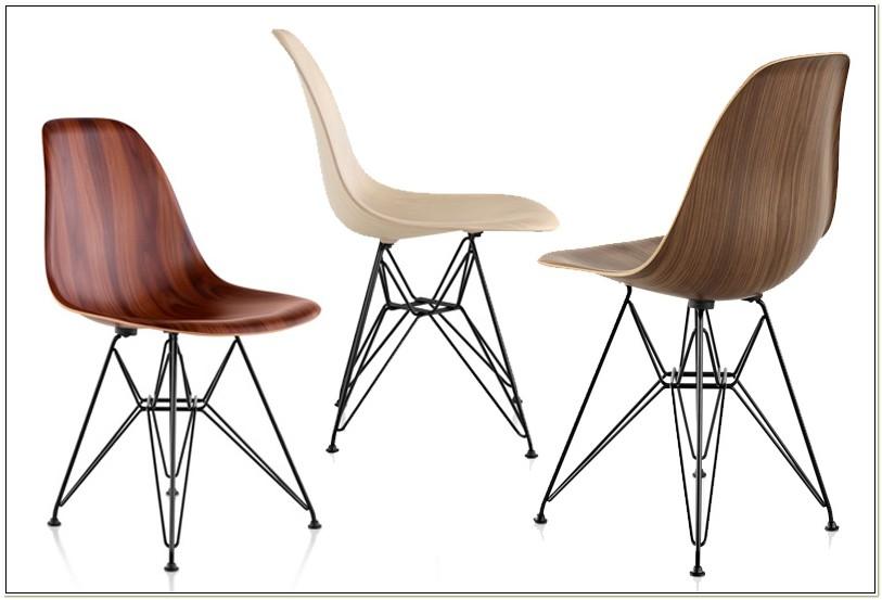 Herman Miller Wooden Chairs