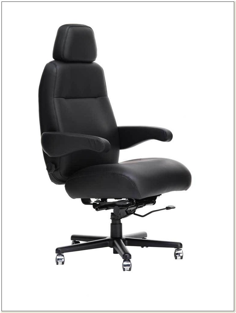 High Back Computer Chair With Headrest