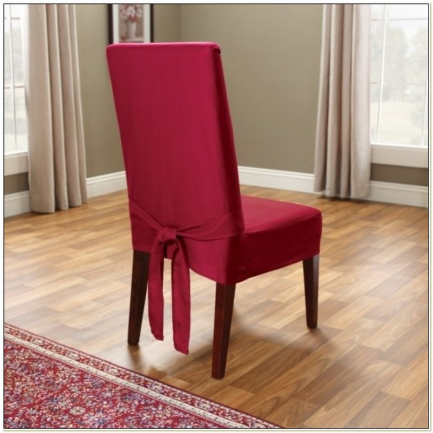 High Back Dining Chair Slipcovers