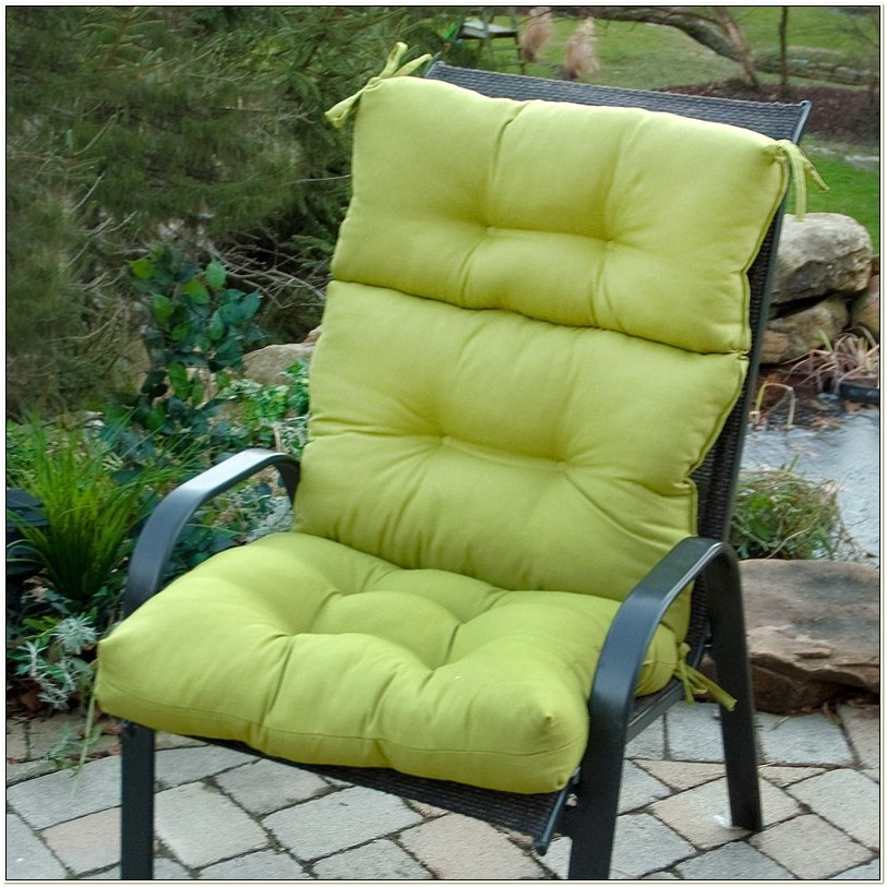 High Back Outdoor Furniture Cushions