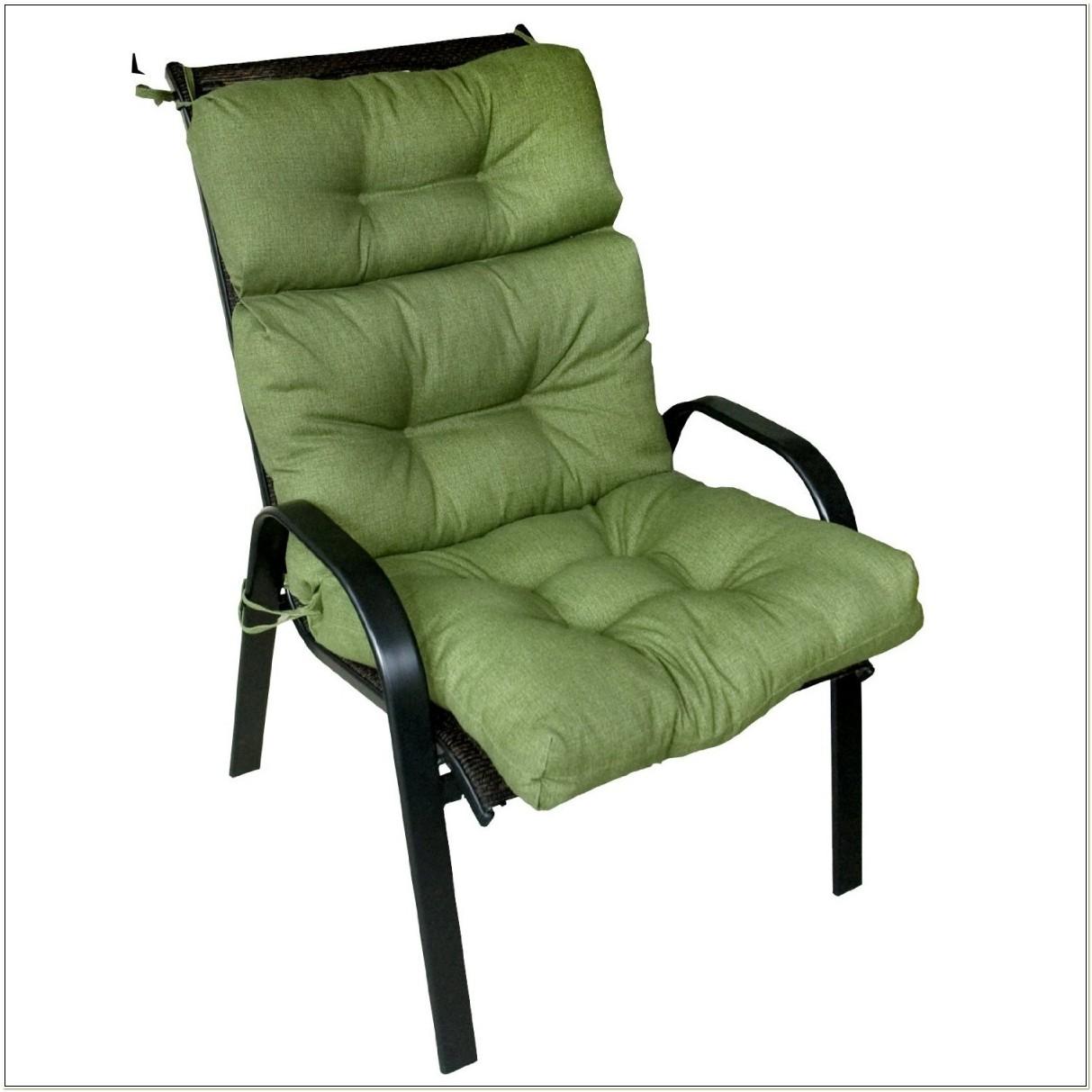 High Back Sling Patio Chair Cushions