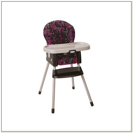 High Chair Converts To Booster