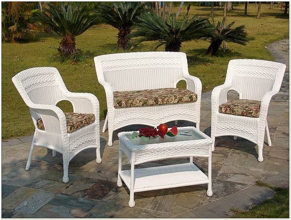Home Depot White Wicker Resin Chairs