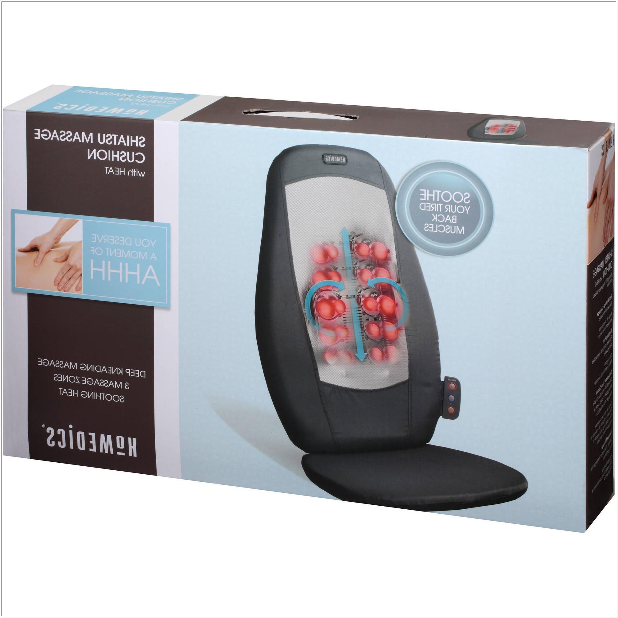 Homedics Heated Massage Seat Cushion